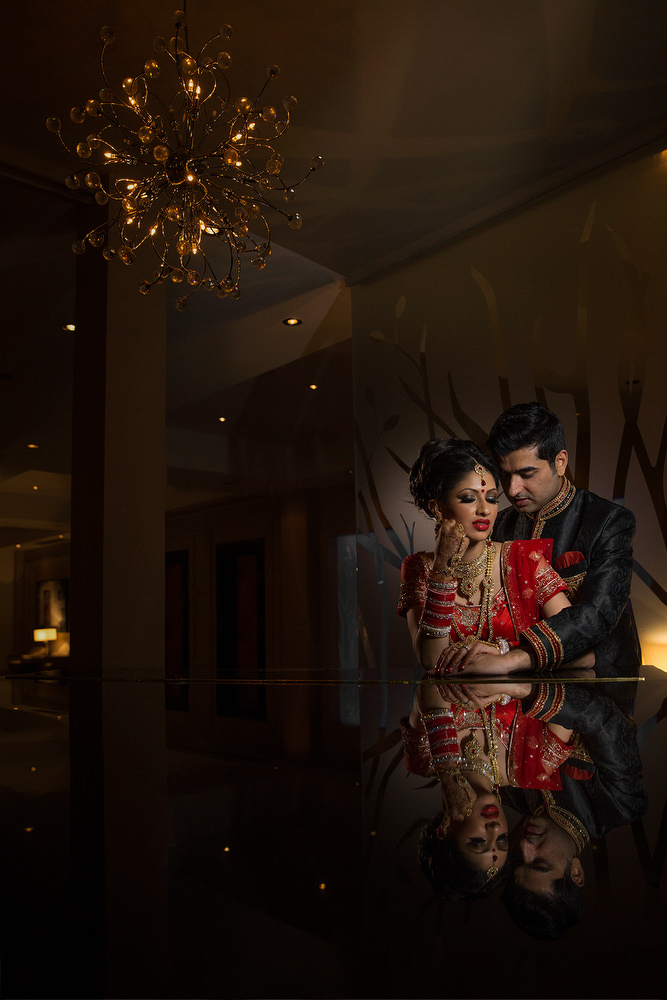 2.2.1. Sikh Wedding Day Shoot Portrait Couple Reception - Chelsea Harbour Hotel.jpg
