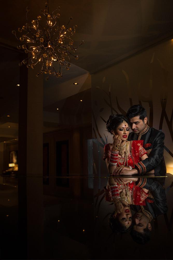 2.2.1. Sikh Wedding Day Shoot Portrait Couple Reception - Chelsea Harbour Hotel.jpg