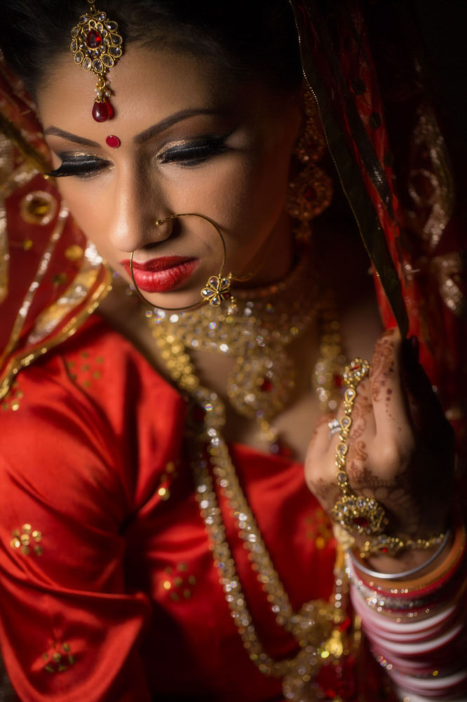 2.2.3.1 Sikh Wedding Day Shoot Portrait Bride - Southall Gurdwara.jpg