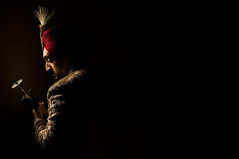 4.2 Sikh Groom Kalgi Singh.jpg