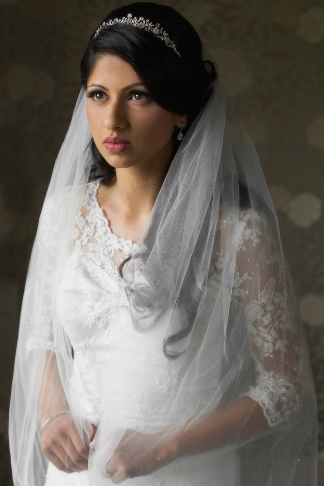 18. Civil Sikh Wedding Day Shoot Portrait Bride - Buckinghamshire Gold Club.jpg