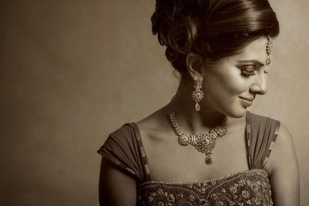 22. Sikh Wedding Day Shoot Portrait Bride - Ruislip.jpg