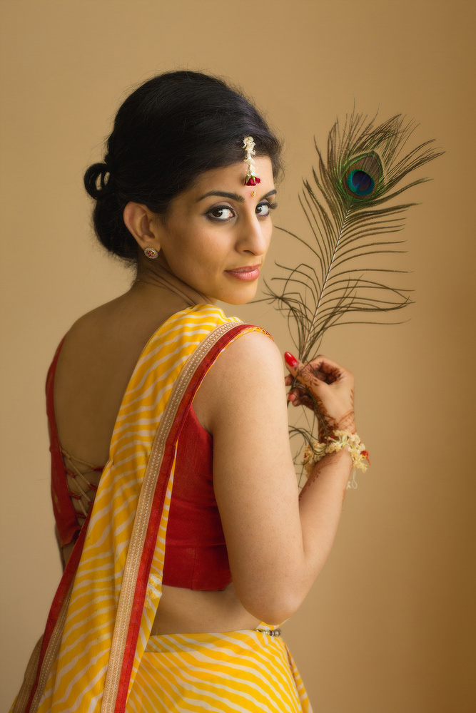 28.1. Gujerati Hindu Wedding Day Shoot Portrait Bride - Croydon.jpg