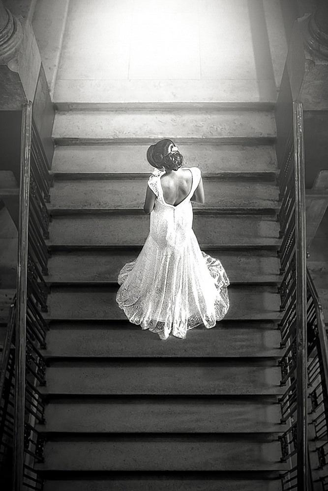33. Gujerati Civil Hindu Wedding Day Shoot Portrait Bride - Ealing Town Hall.jpg