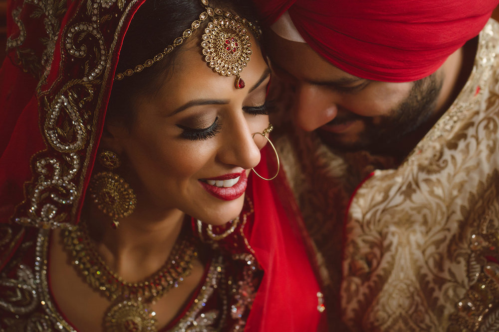 1.0.1. Sikh Wedding Day Shoot Portrait Couple - Hounslow Gurdwara.jpg