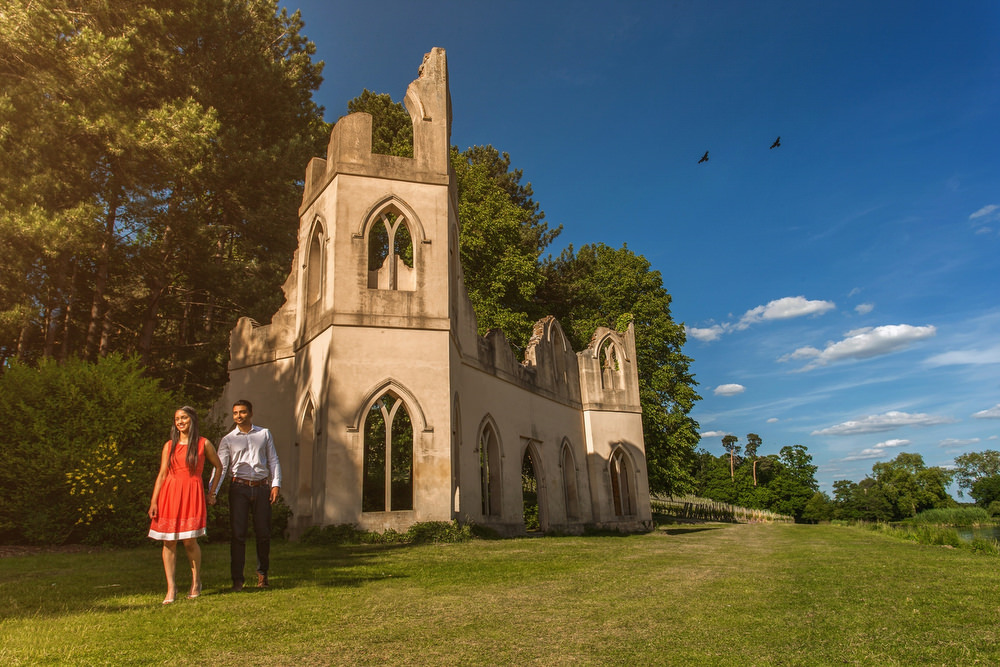 9. Painshill Park, Cobham, Surrey - Hindu Pre Wedding Shoot.jpg