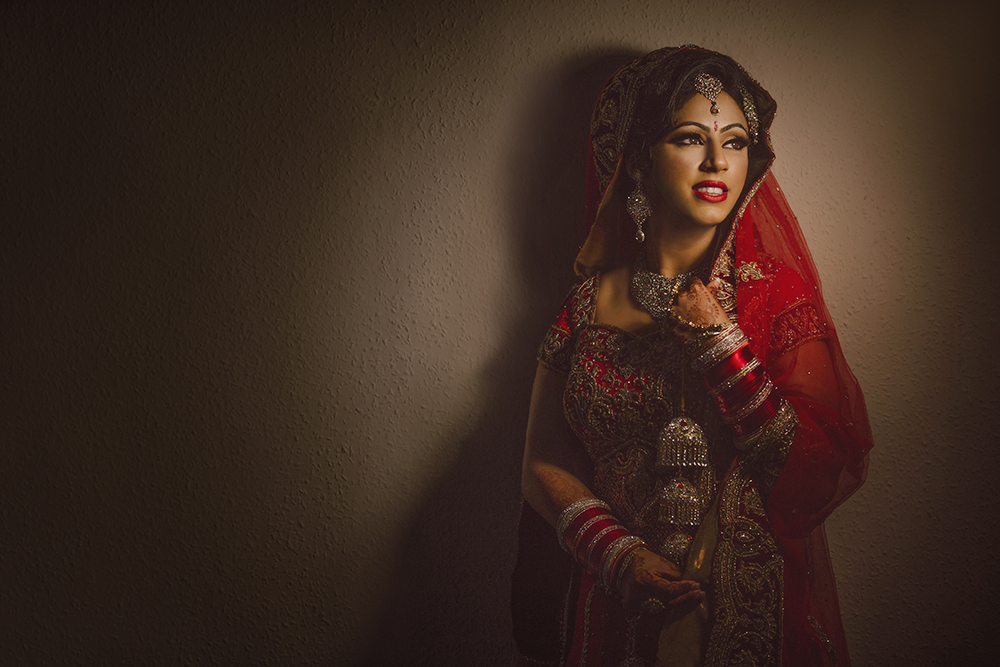 1.1.2.0.2 Sikh Wedding Day Shoot Portrait Bride - Hounslow Gurdwara.jpg