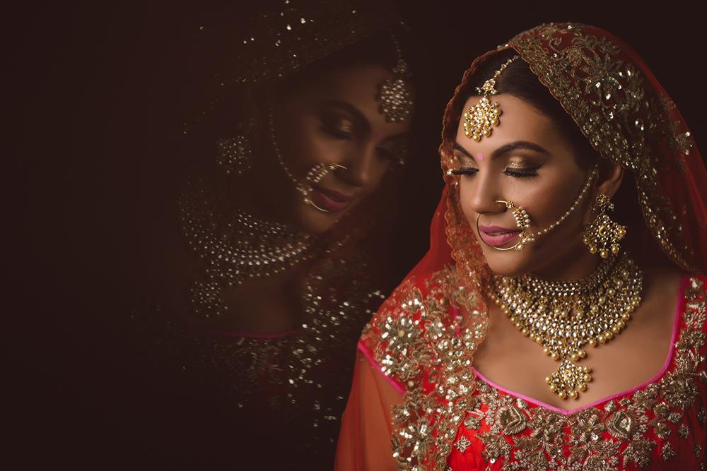1.1. A Sikh Wedding Day Shoot Portrait Bride - Hayes Guru Nanak School Gurdwara.jpg