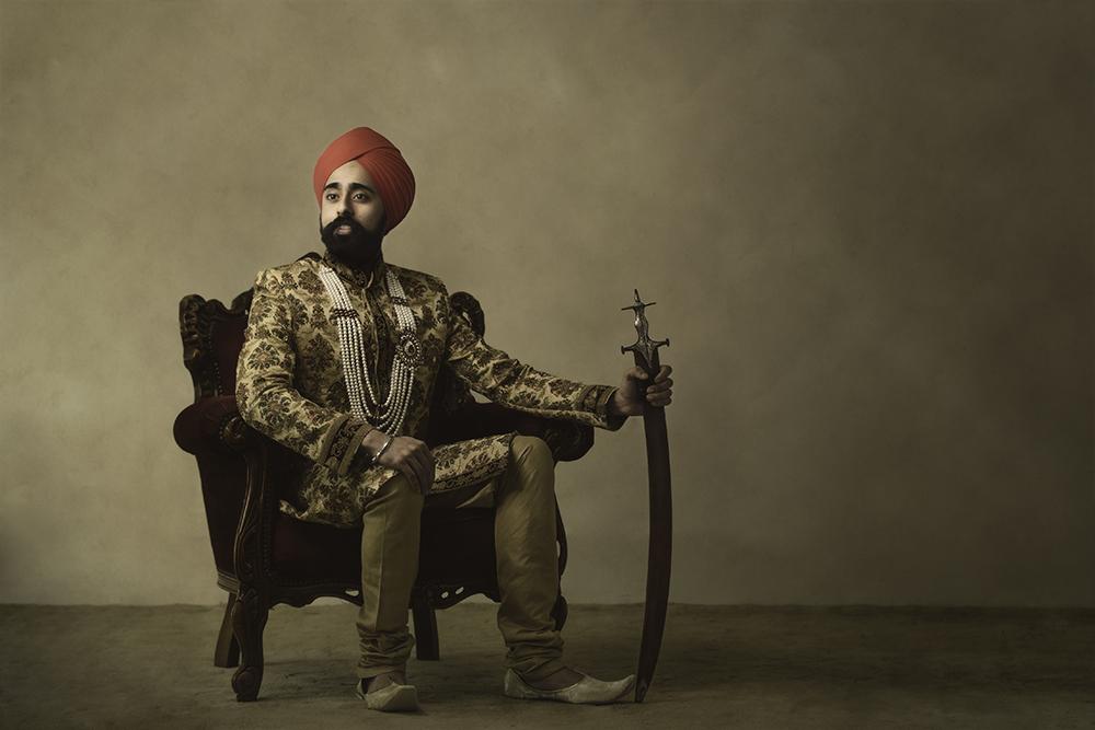 1.0.1.1.1.2 Sikh Wedding Day Shoot Portrait Groom - Southall Gurdwara.2.jpg