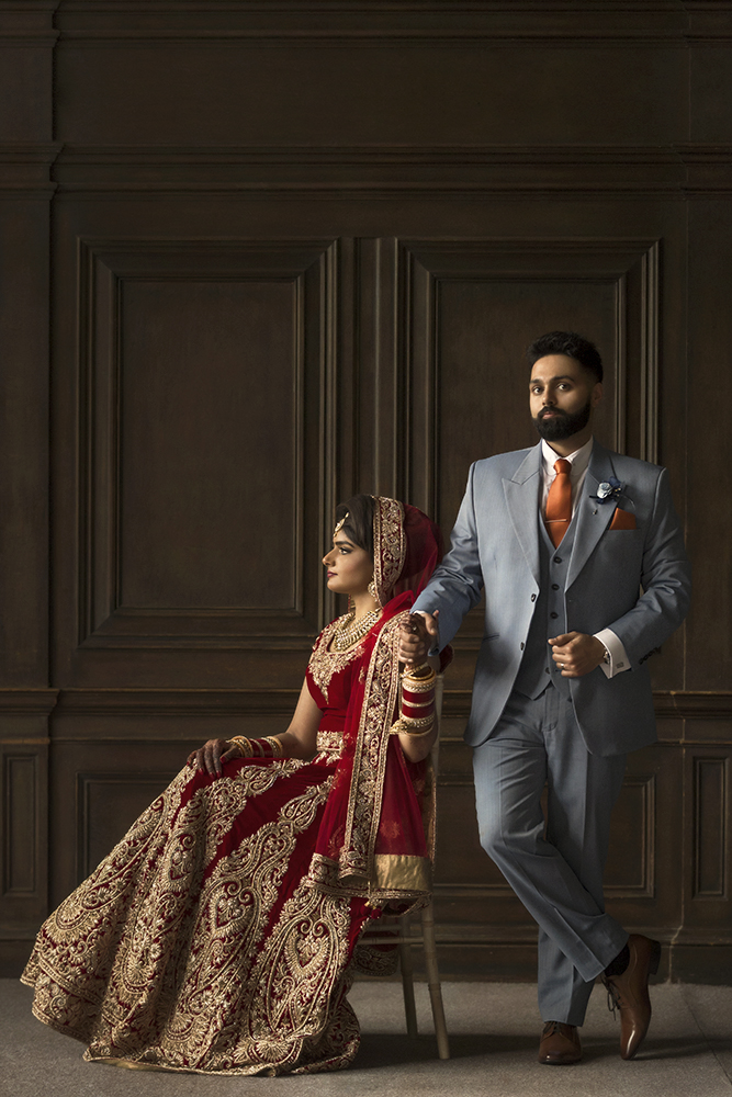 1.0.1.1.1.2 Sikh Wedding Day Shoot Portrait Couple - Newland Manor.jpg