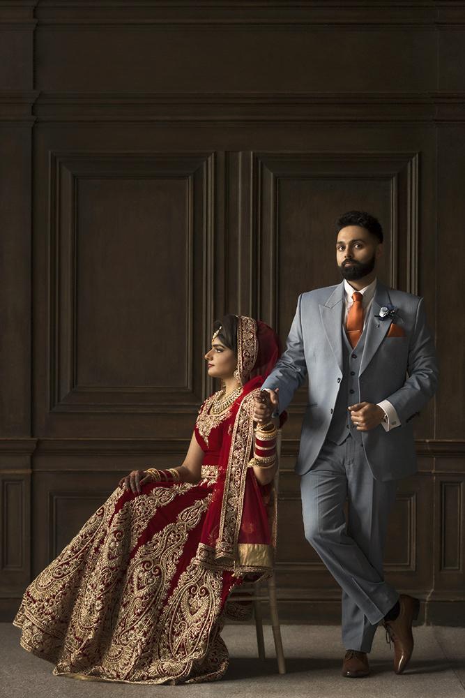 1.0.1.1.1.2 Sikh Wedding Day Shoot Portrait Couple - Newland Manor.jpg