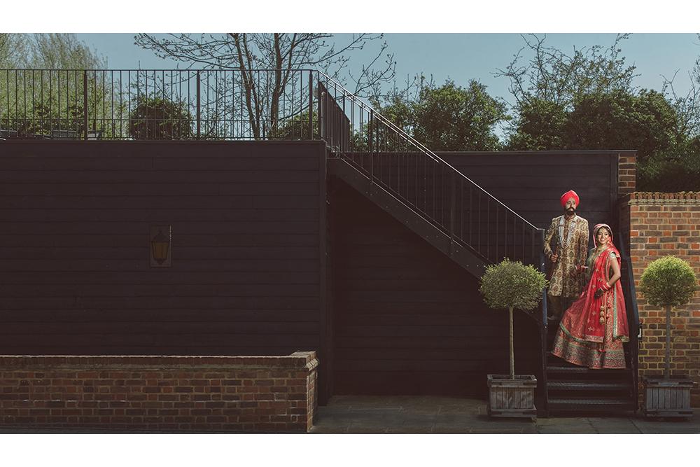 1.1. C Sikh Wedding Day Shoot Portrait Couple - Tewin Bury Farm.jpg