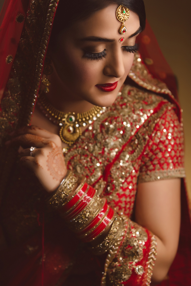 0.3.2A Sikh Wedding Day Shoot Portrait Bride - Southall Gurdwara.jpg