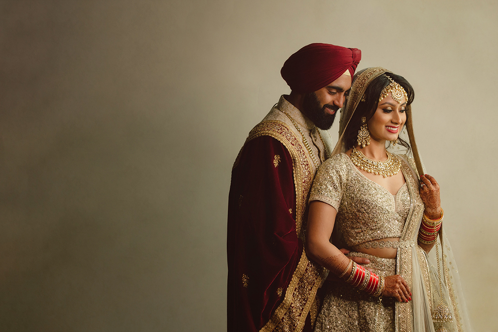 1.0.1.1.1.2 Sikh Wedding Day Shoot Portrait Couple - Guru Nanak School Hayes.jpg
