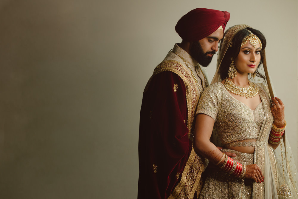 2.1.3.2 Sikh Wedding Day Shoot Portrait Couple - Guru Nanak Academy Wedding.jpg