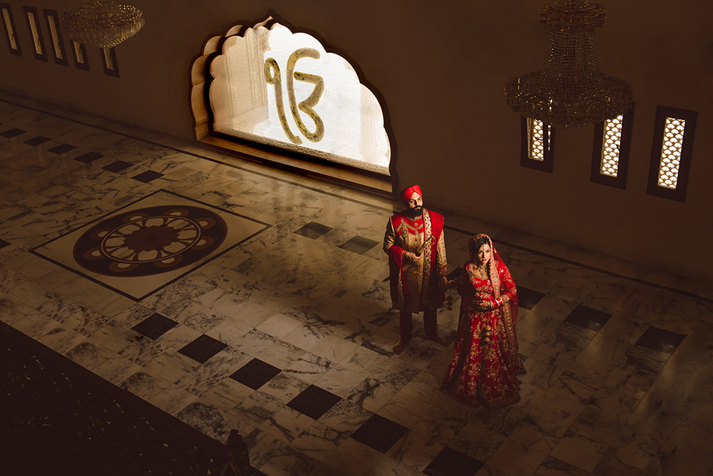 1.0.1.1 Sikh Wedding Day Shoot Portrait Bride - Gravesend Gurdwara.jpg