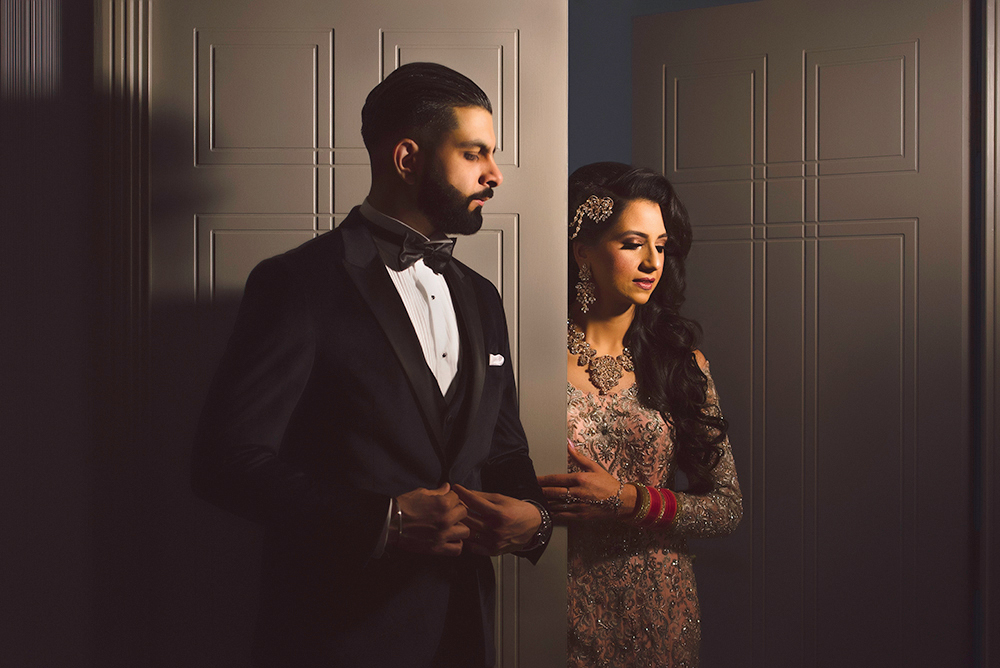 1.0.1.1.1 Sikh Wedding Day Shoot Portrait Couple - Park Inn Heathrow Wedding.jpg