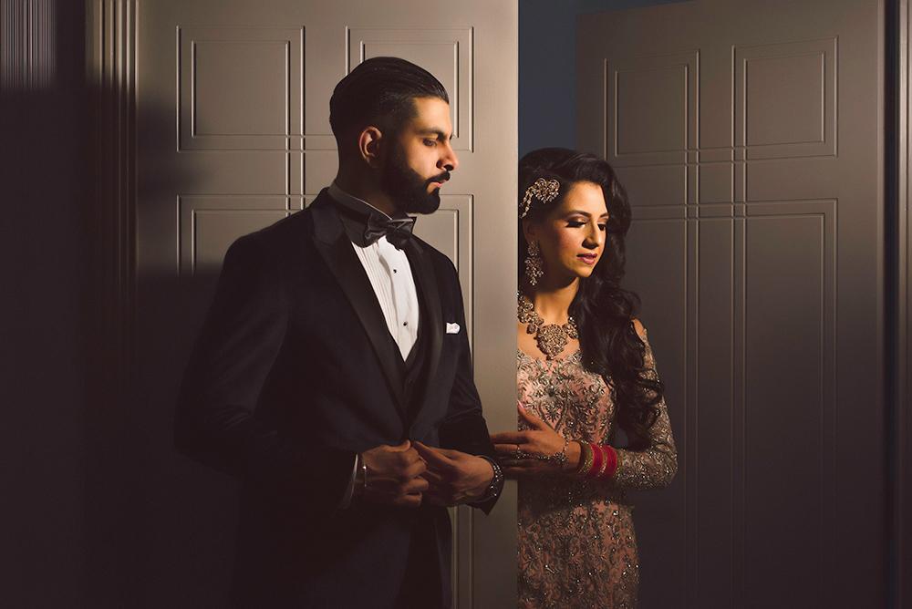 1.0.1.1.1 Sikh Wedding Day Shoot Portrait Couple - Park Inn Heathrow Wedding.jpg