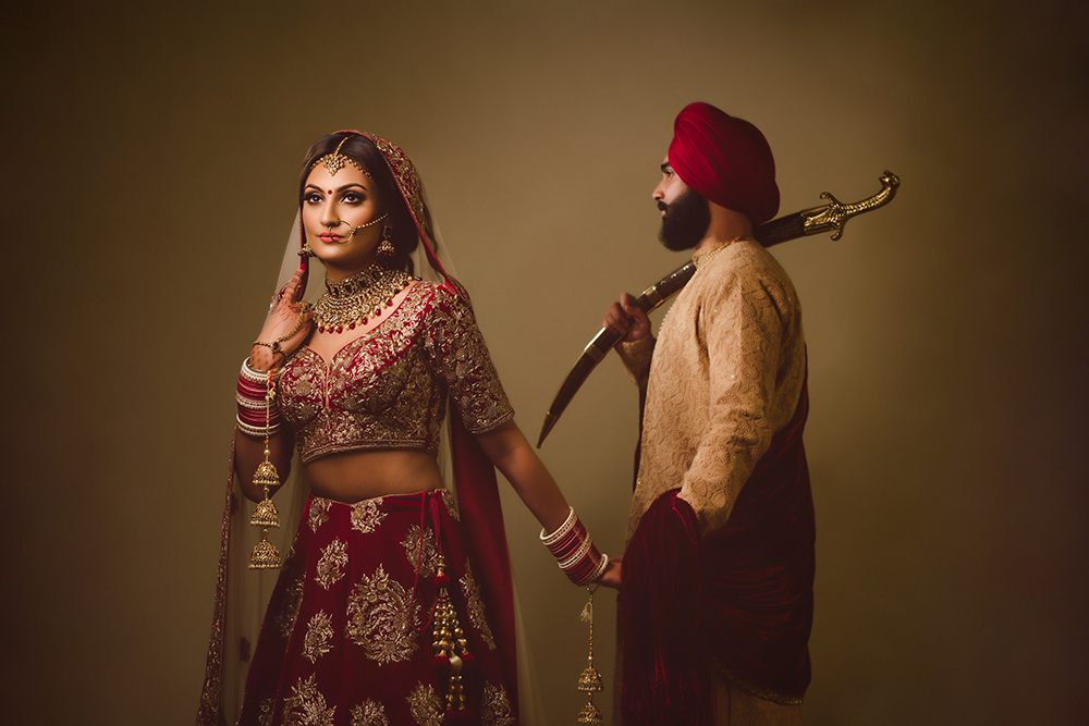 1.0.1.1.1.2 Civil English Wedding Day Shoot Portrait Couple - Hounslow Gurdwara.jpg