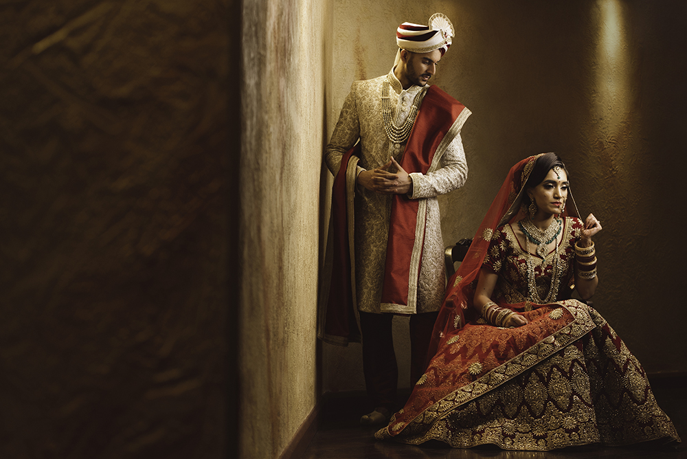 1.0.1.1.1 Hindu Wedding Day Shoot Portrait Couple - Hindu Wedding.jpg
