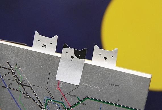 Cat Stickies from  Dubu Dumo