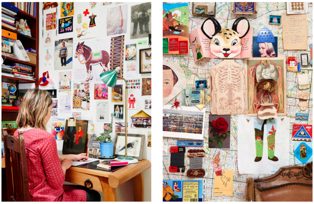 Photo of  Sandra Eterovic 's studio from  The Design Files