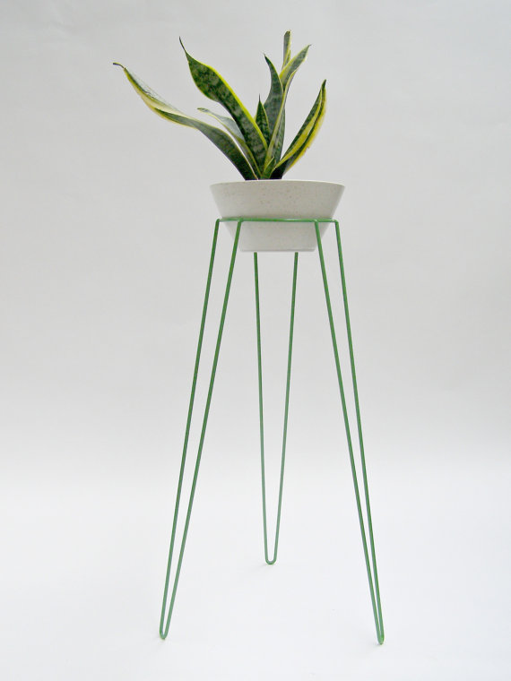 Metal Wire Planter by Wirely Home