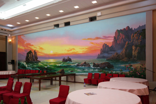 ... And Yes, They Are Real Interiors Of North Korea. It Looks Like Youu0027re  Stepping Into The Mind Of Wes Anderson, If He Were An Interior Designer.  Enjoy.