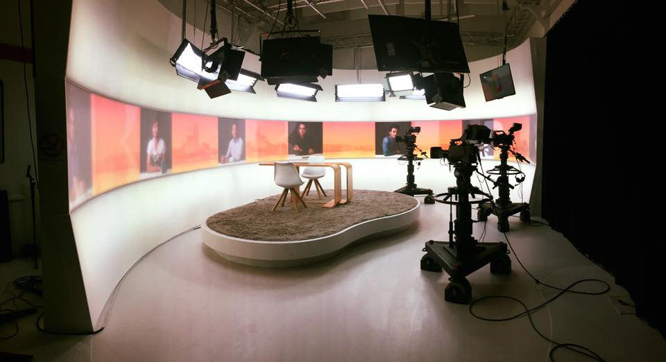 Im Telebasel Studio