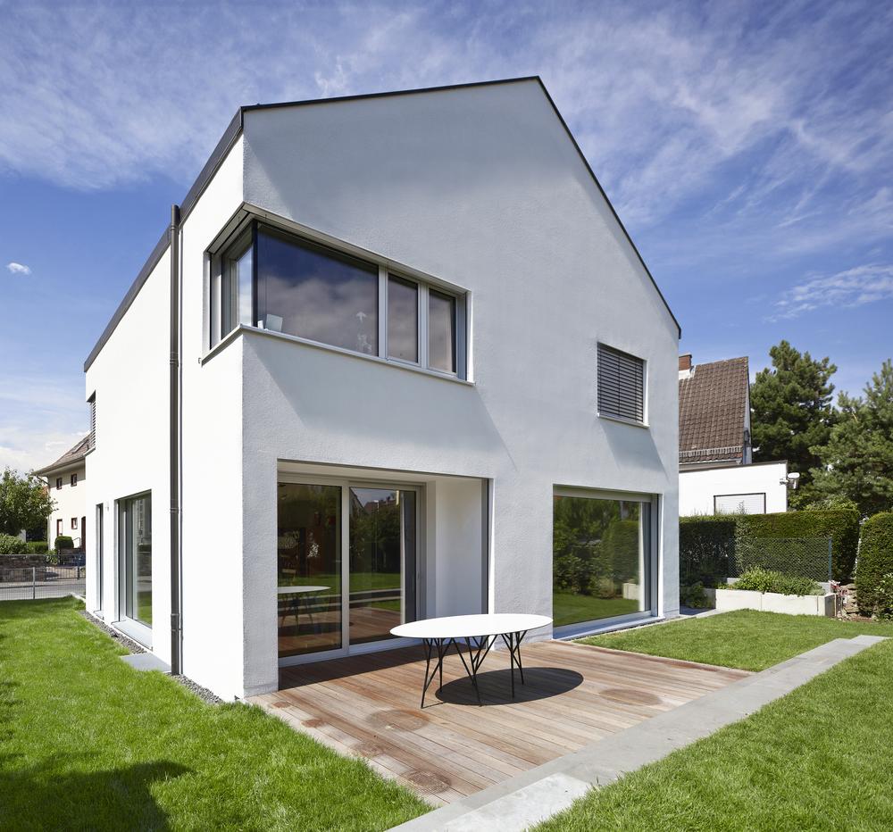 wohnhaus h mainz neubau architekt hofbauer. Black Bedroom Furniture Sets. Home Design Ideas