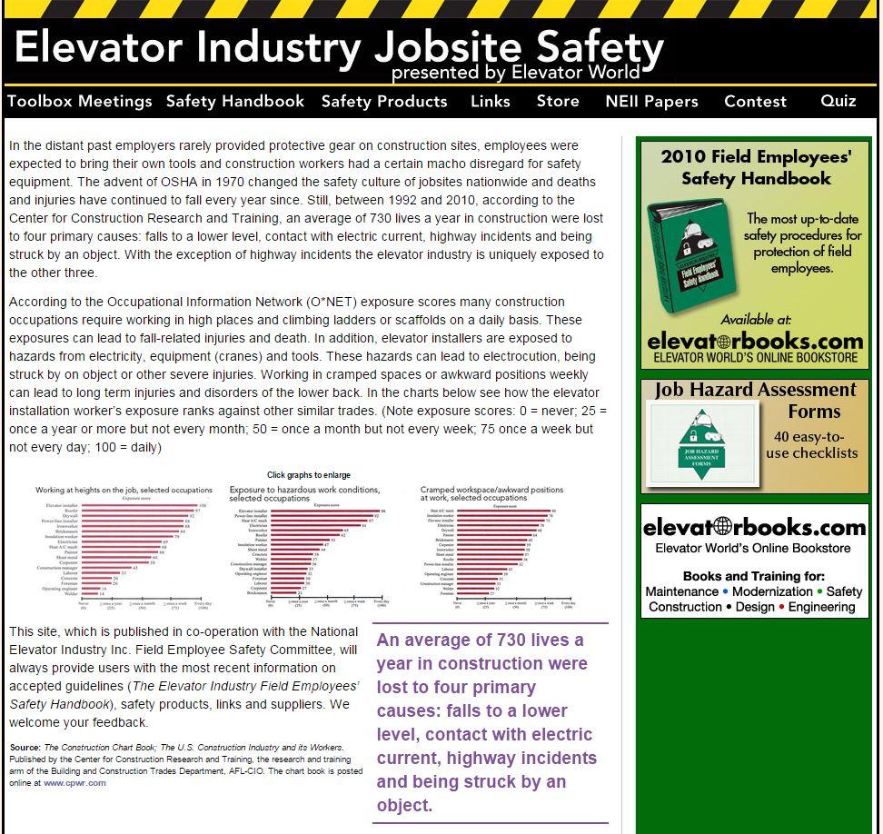 elevatorindustrysafety