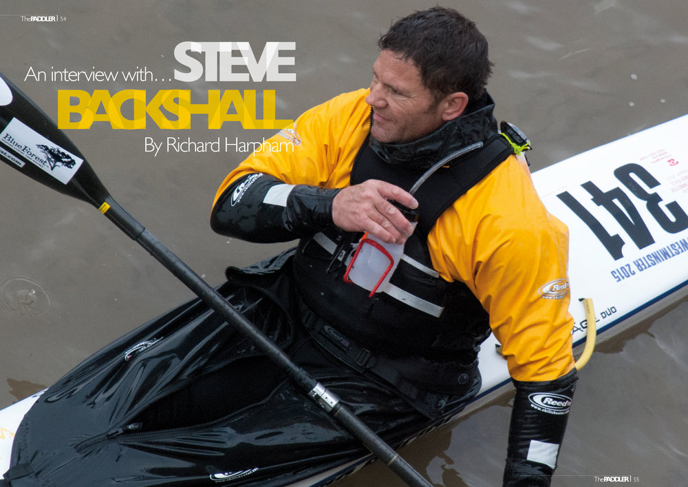 Steve Backshall talks to Richard Harpham for Paddler Magazine about his love for the water. https://thepaddlermag.com/