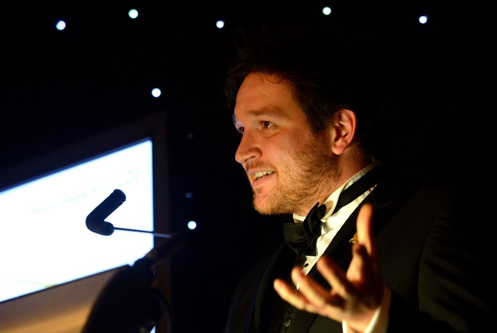 Ben Garrod - Recognising Success Awards 2016 Photo Credit Chas Breton.jpg