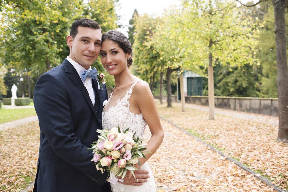 Sara & Roberto wedding portrait