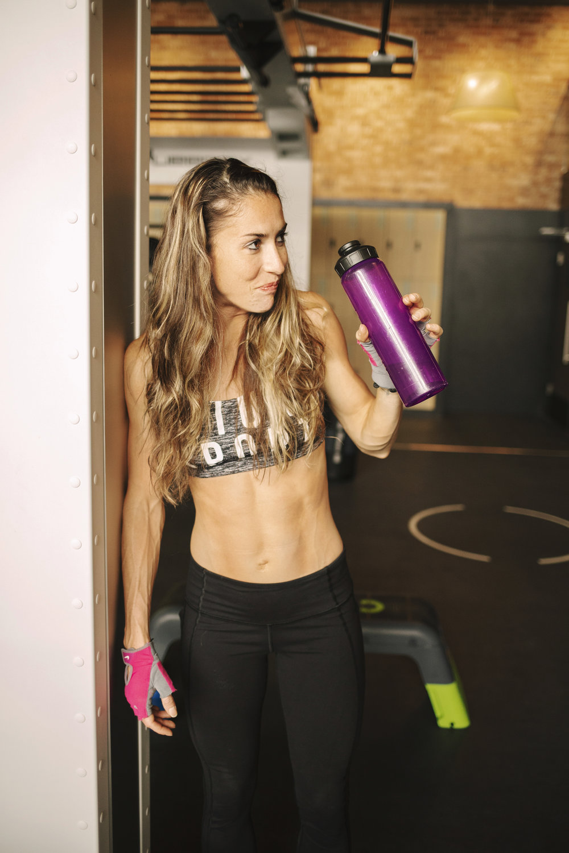 Fitness model coach Emily Haug