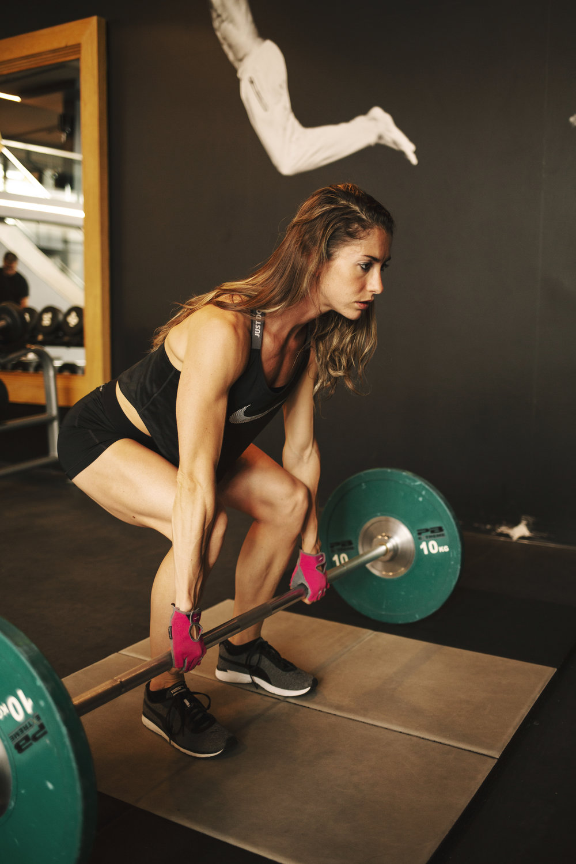 Fitness model coach Emily Haug Carmen Wong Fisch Photography