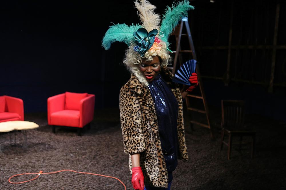 "Julienne ""Mizz June"" Brown as Marsha P. Johnson."
