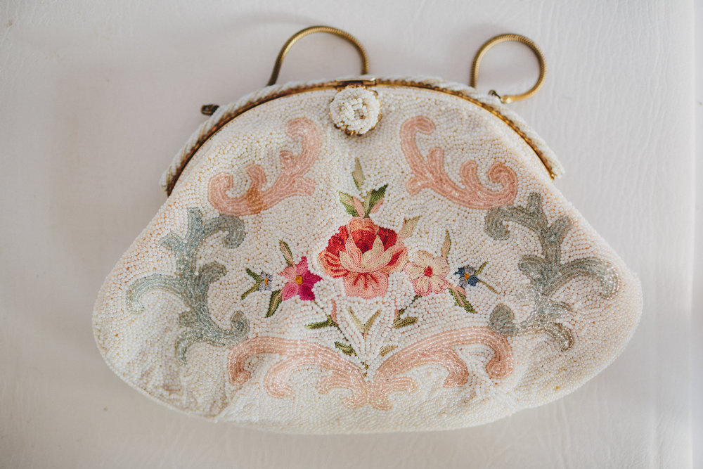 I snagged this vintage beaded purse for a steal on Mercari. Photos by  Nickel City Studios