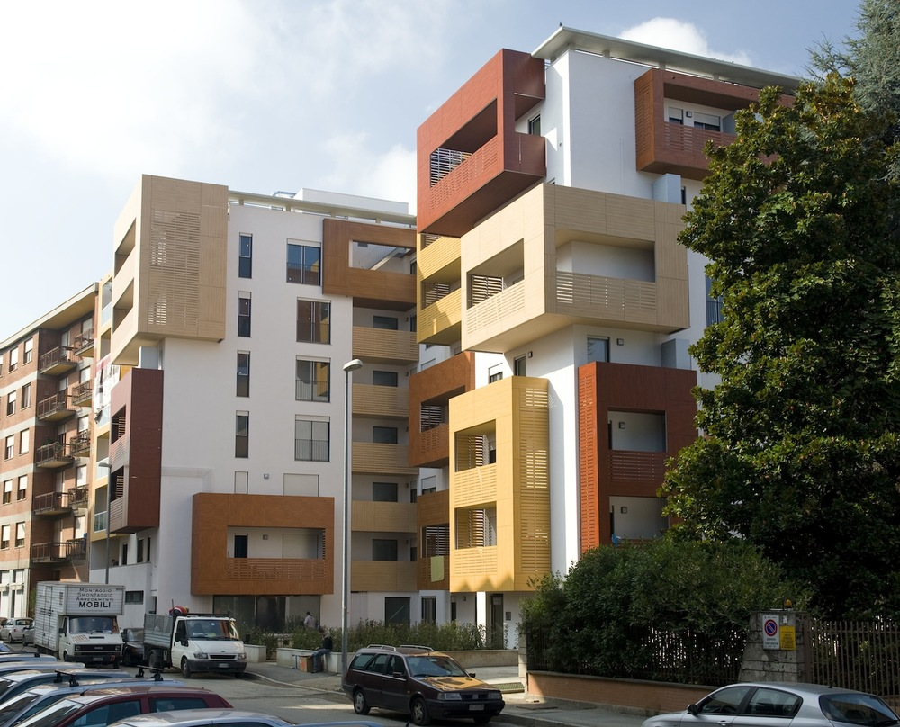 Apartment Building Rivoli Torino Italy