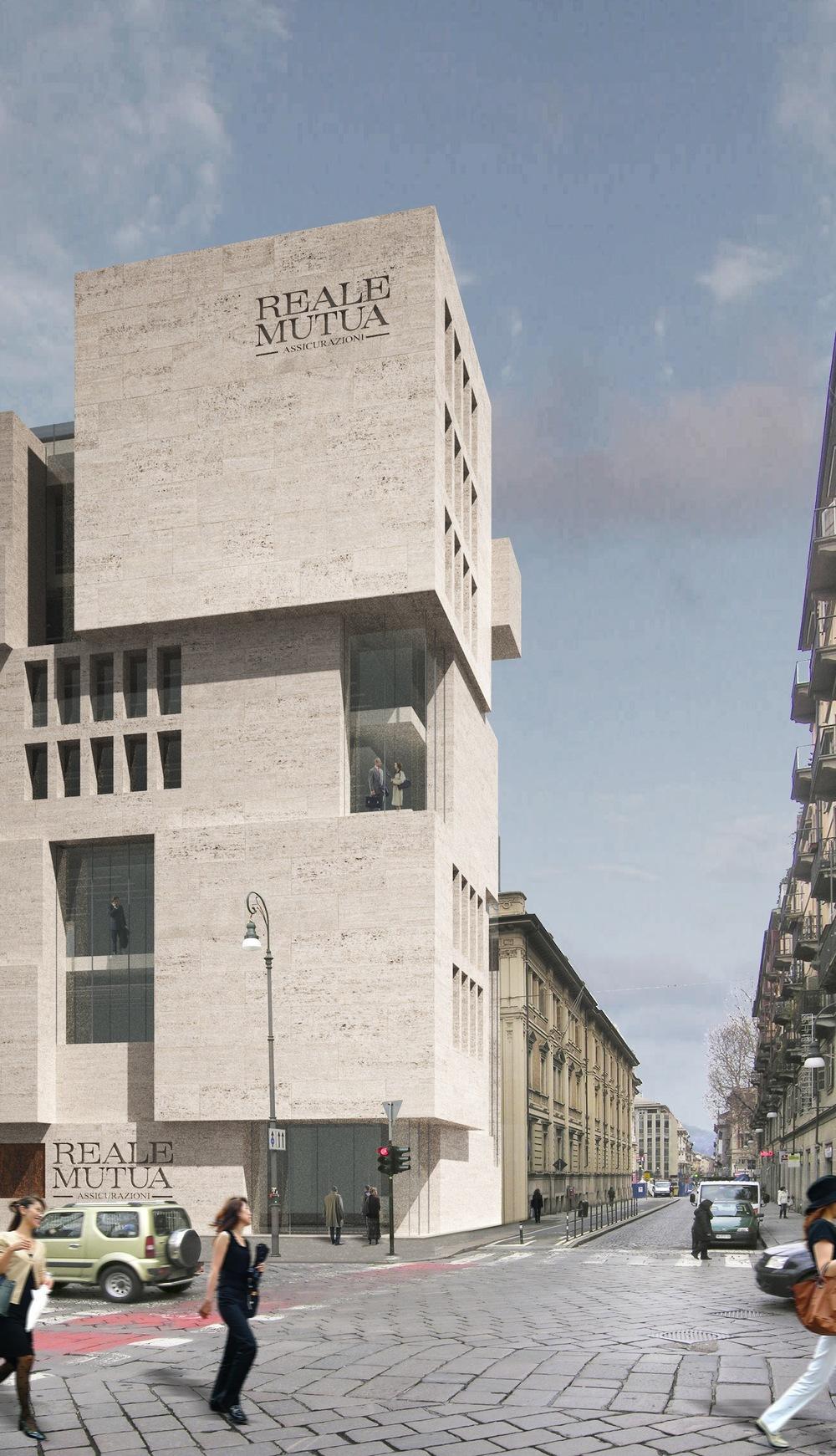 Headquarters Reale Mutua Torino Italy