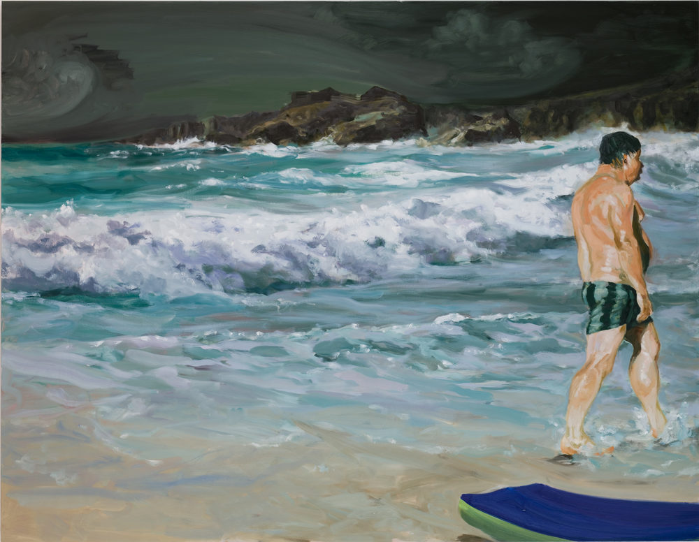 Scenes From Late Paradise: Stupidity, 2007. Oil on linen. 84 x 108 in. (213 x 274 cm.)