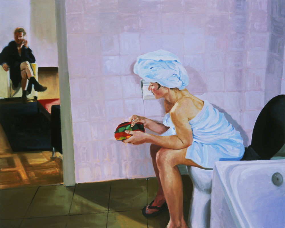 Bathroom, Scene #4, Untitled, 2005.