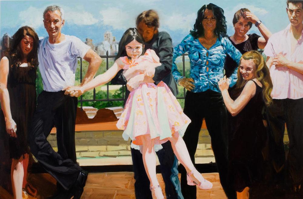 McEnroe Family, 2006.