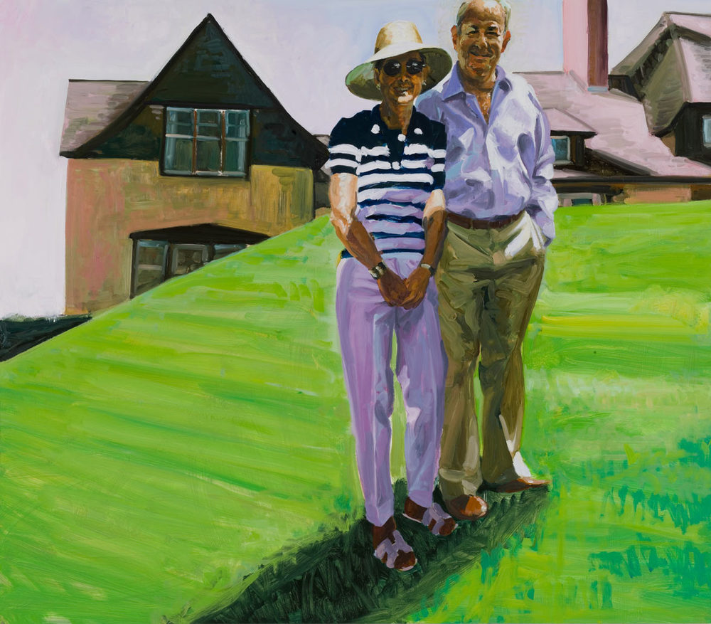 Portrait of Pam and Ed Pantzer, 2007.