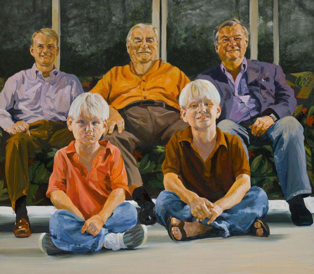Four Generations of Dicke Men, 2008.