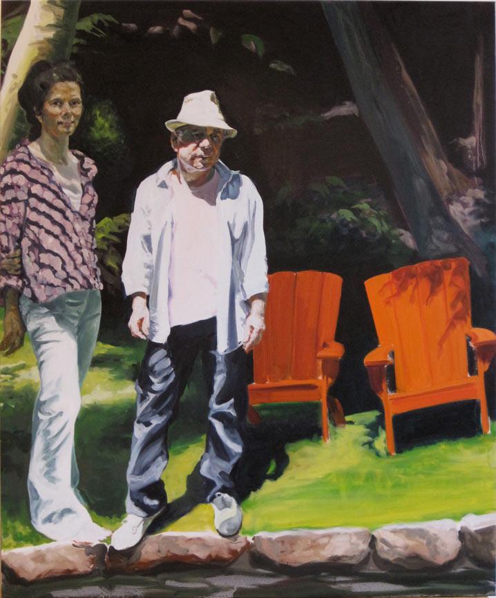 Edie and Paul, 2010.