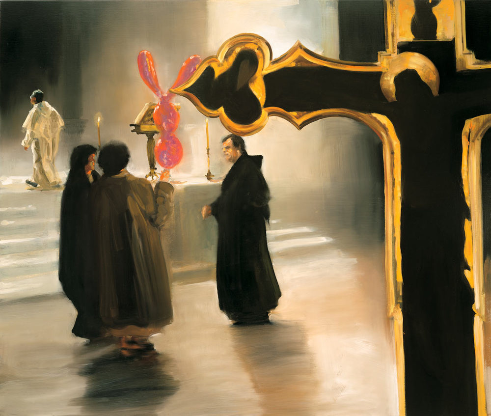 Untitled, 1998. Oil on Linen. 55 x 65 in. (140 x 165 cm.)