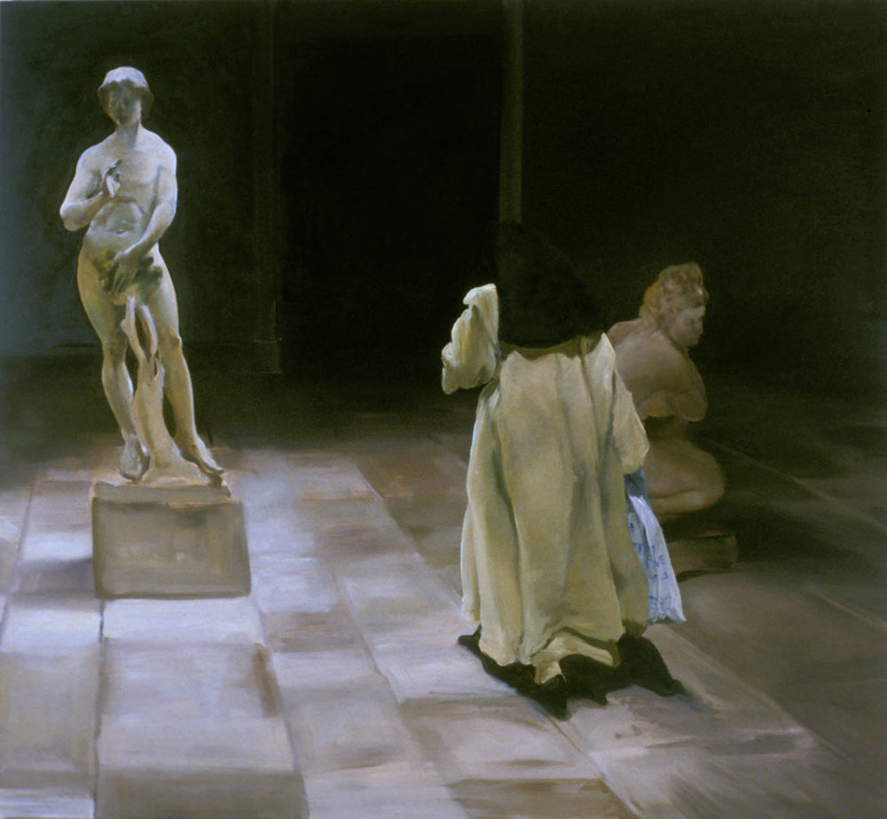 La Spesa, 1997. Oil on linen. 751/2 x 82 1/4 in. (192 x 209 cm.)