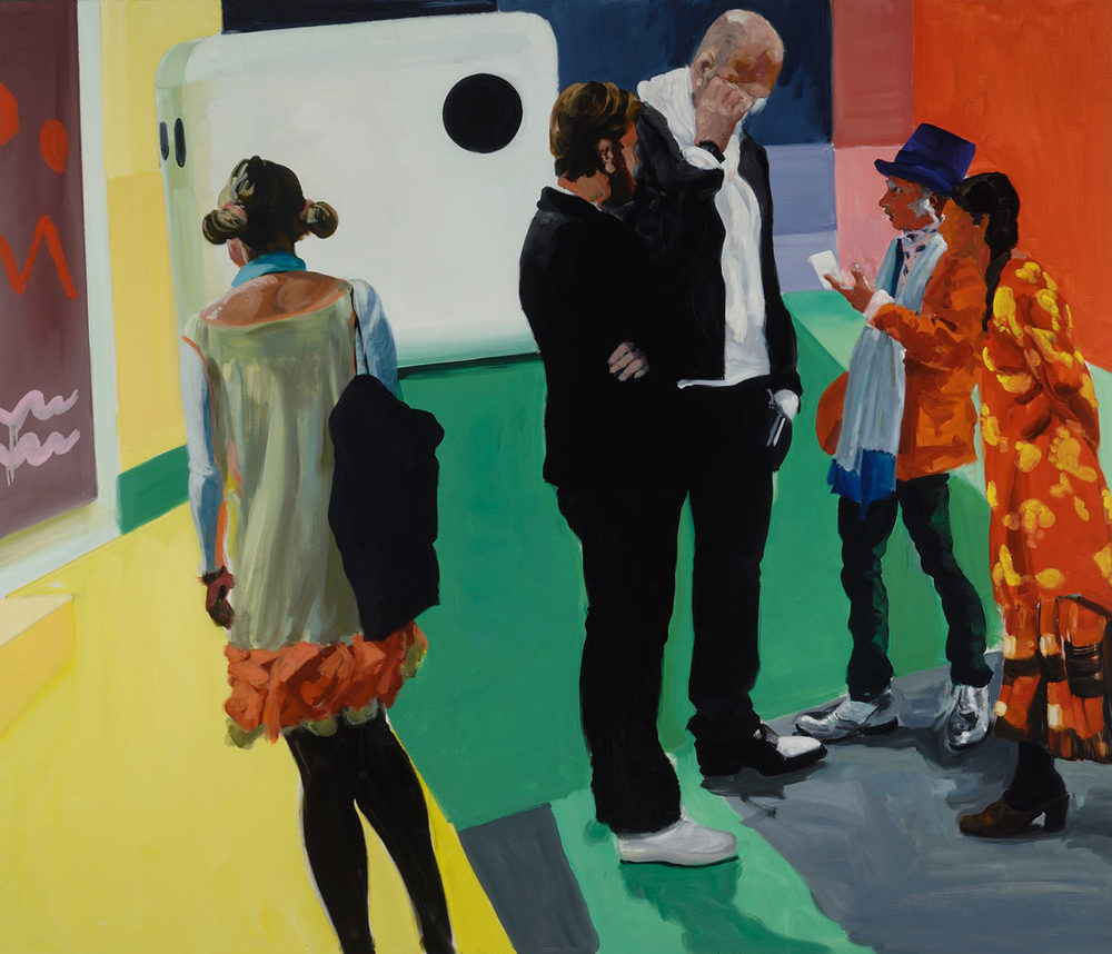 Art Carny, 2015. Oil on Linen. 72 x 84 in. (183 x 213 cm.)