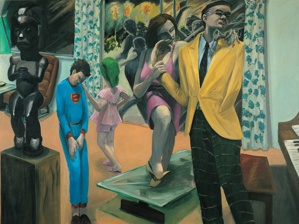 Time for Bed, 1980. Oil on Canvas. 72 x 96 in. (183 x 244 cm.)